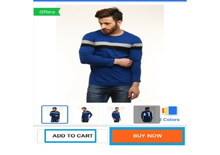 click on buy now for shopping flipkart products