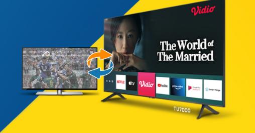 Dapatkan TV Baru Lebih Murah, Yuk Intip Cara Mudah Trade in TV