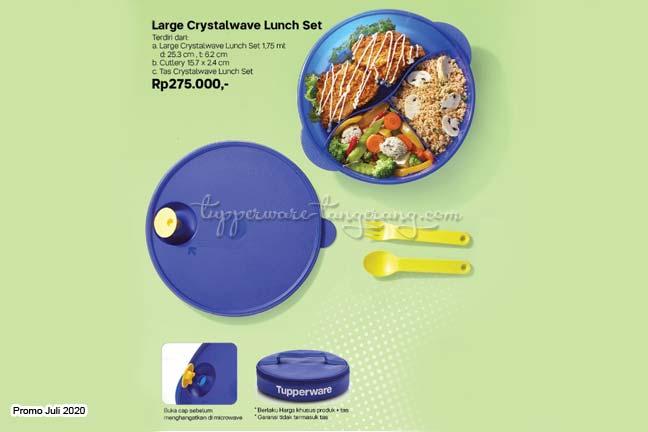 Tempat bekal/makan, lunch set, lunch box Tupperware promo Juli 2020