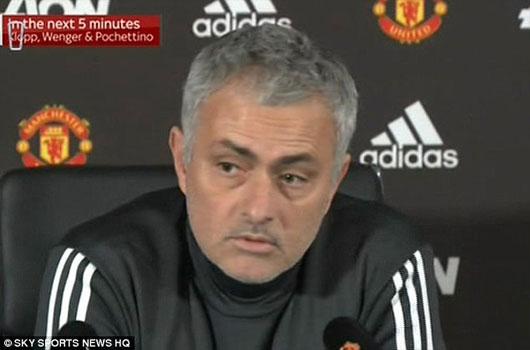 Mourinho lần đầu lên tiếng về vụ ẩu đả với Man City