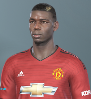 PES 2019 Faces Paul Pogba by Hugimen