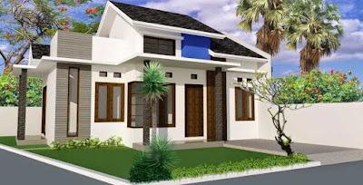 Desain Terbaru Rumah Minimalis Sederhana Lokasi Pojok Paling Nyaman Ditempati 4