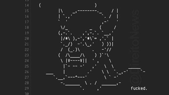 hackers atacam trf 1 imagem diabo