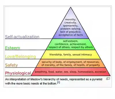 Maslow hierarchy needs  motivational Theory