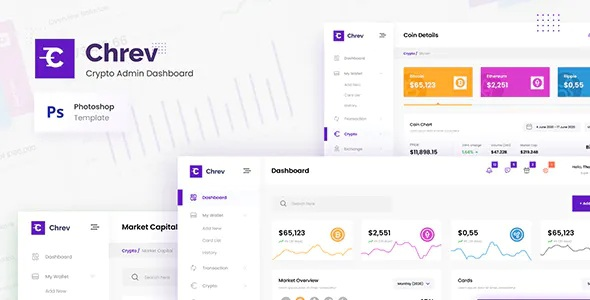 Best Crypto Admin Dashboard UI Template