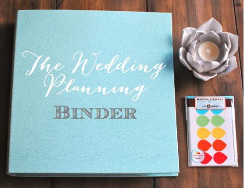 The Wedding Planning Binder