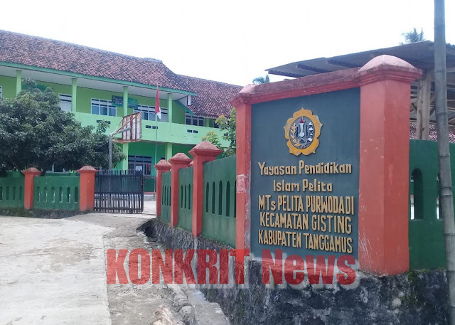 Kepala Sekolah MTs Pelita Purwodadi Diduga Salah Ambil Kebijakan