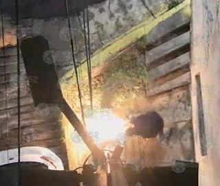 Encapuchados dañan 44 cámaras del C5, en Naucalpan