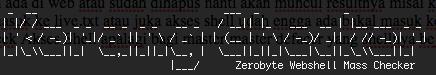 Tools Kerang Checker - Zerobyte Webshell Mass Checker (PHP CLI)
