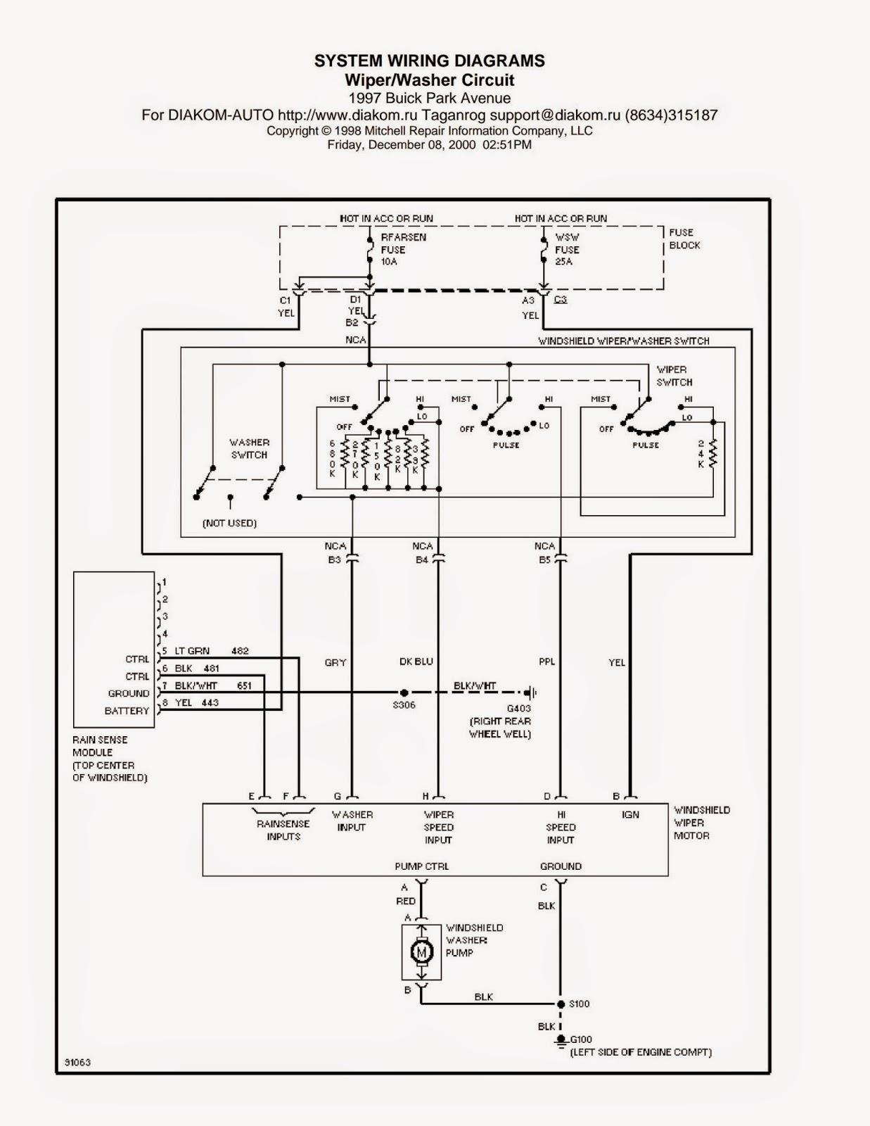 1997 jeep cherokee starter wiring diagram