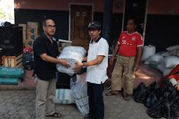 Sunardi Ayub Bantu Warga Lombok Terdampak Gempa