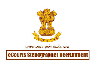eCourts Stenographer Recruitment 2020