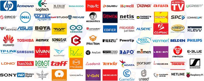 Didukung lebih dari 60 brand ternama di dunia