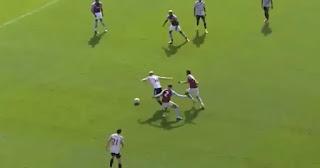 Van de Beek with impressive skills sending two Aston villa player the wrong way pictures