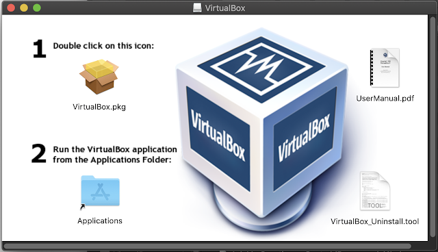1st Step of Oracle VM VirtualBox installation.