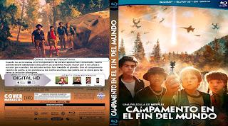 CARATULA CAMPAMENTO EN EL FIN DEL MUNDO- RIM OF THE WORLD 2019[COVER BLU-RAY]