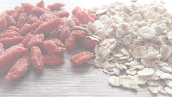 baies de goji avoine superfood