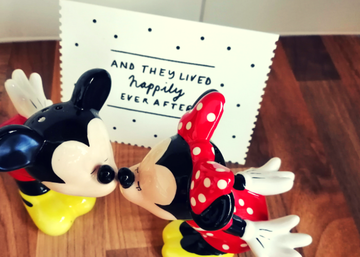 Mickey and Minnie salt and pepper shakers