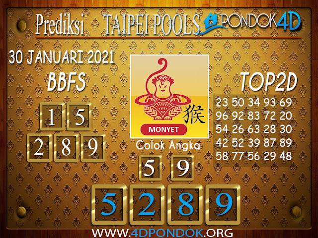 Prediksi Togel TAIPEI PONDOK4D 30 JANUARI 2021