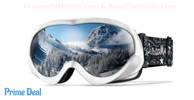 Kids Ski Goggles - Helmet Compatible Snow Goggles 30%OFF