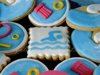 Galletas natación
