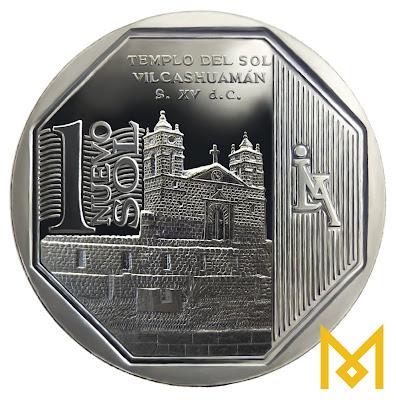 moeda de prata un nuevo sol