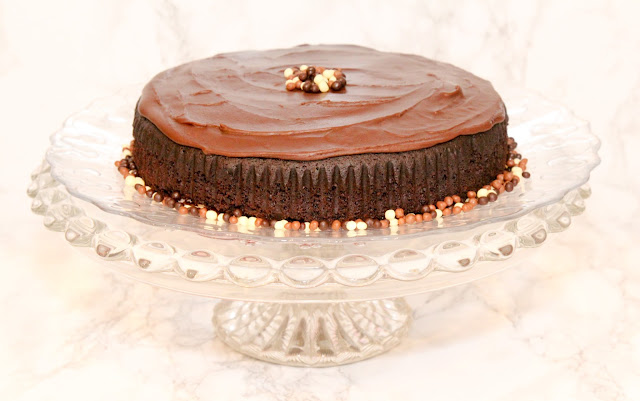 Eggless Choclate Cake with icing