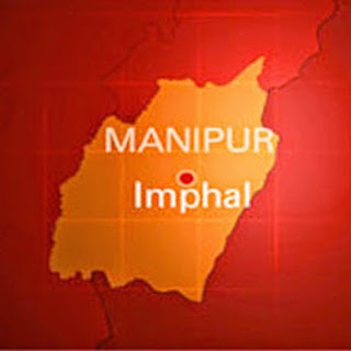 Manipur Imphal Map