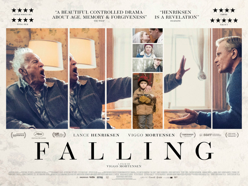 falling film poster