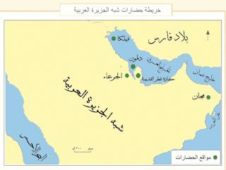 اللغة العربية: القسم الجنوبي والقسم الشمالي
