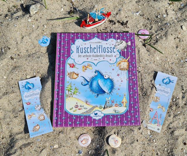 """Ahoi Fischhausen! Die """"Kuschelflosse""""-Kinderbücher und -Hörbücher. Der neueste Band der Reihe von Nina Müller im Magellan Verlag ist voller Spannung und Erlebnisse!"""