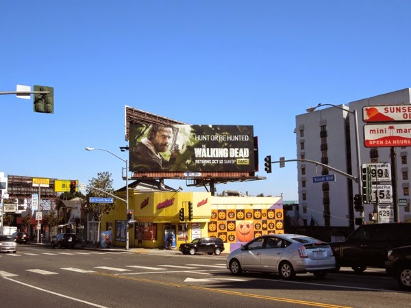 Walking Dead season 5 billboard