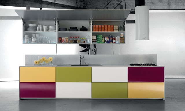 cocina multicolor