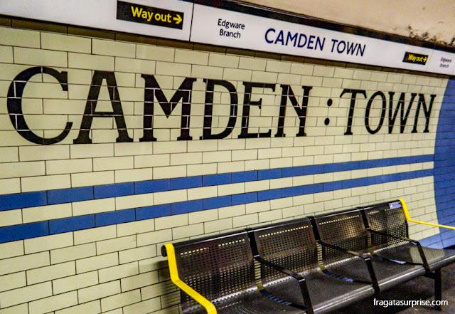 Estação de Metrô de Camden Town, Londres