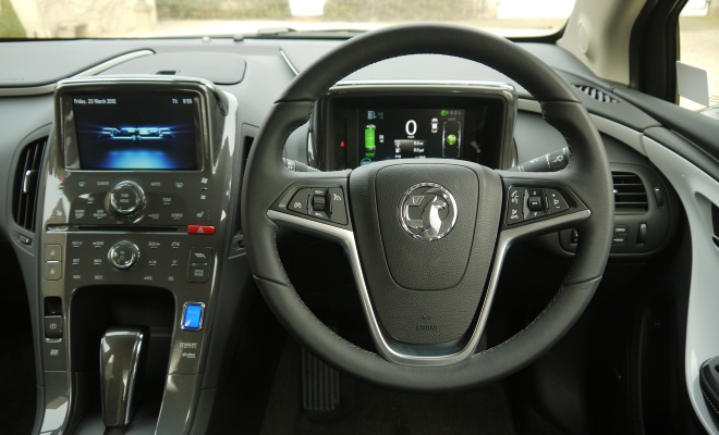Vauxhall Ampera driver's view