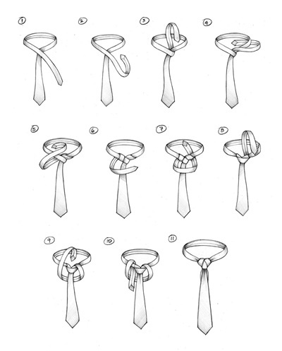 How to Tie A Tie : A CAPE KNOT