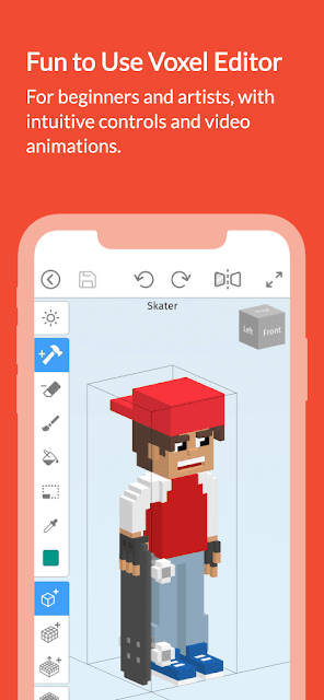Mega Voxels Play is a Voxel Editor