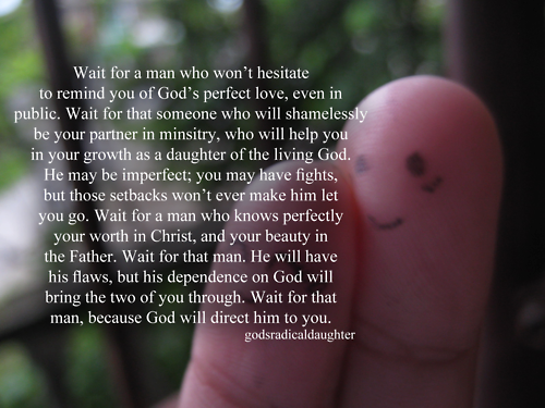 """Lady In Waiting"" ♥: ""God Will Direct A Godly Man To You."""