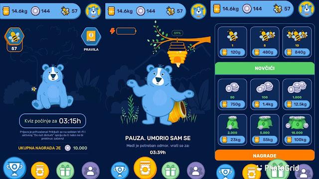 Snimak ekrana Adbalu aplikacije