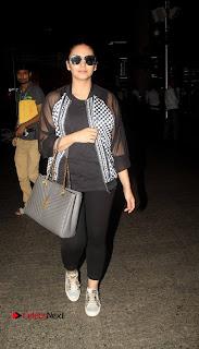 Huma Qureshi Snapped at the Mumbai Airport ~ Celebs Next