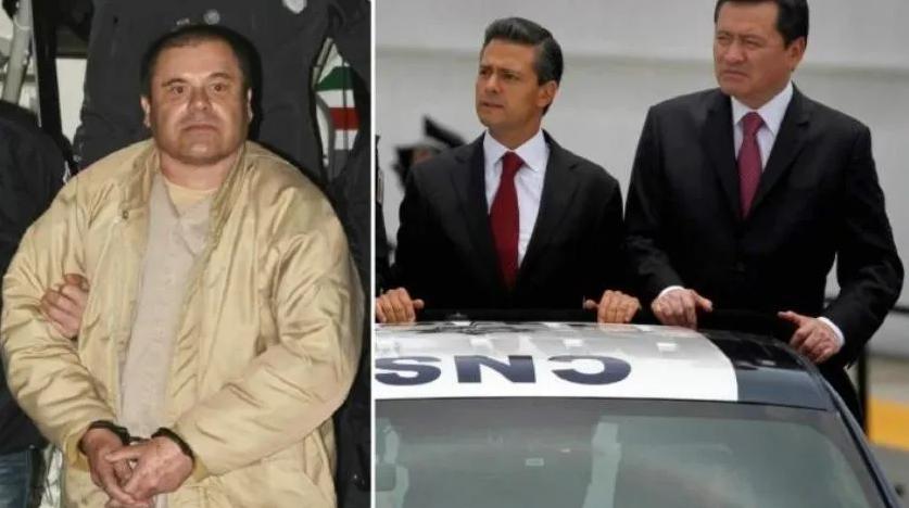 Tenemos pruebas de que Osorio Chong y Peña recibieron 1800 mdd del Chapo Guzmán