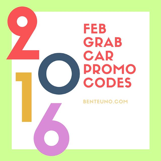 GrabCar Promocodes for February 2016