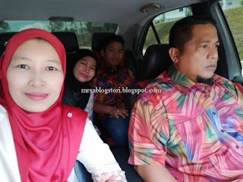 Kenduri Kahwin Anak Ex-classmate dan Jiran Jiboi Mr. A