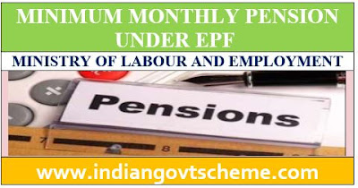 MONTHLY PENSION UNDER EPF