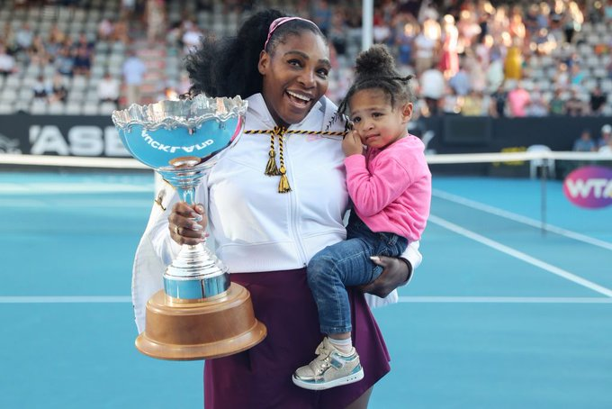 Finally! Tennis Star Serena Williams Wins Auckland Open Tournament, First Title In Three Years (Photos)