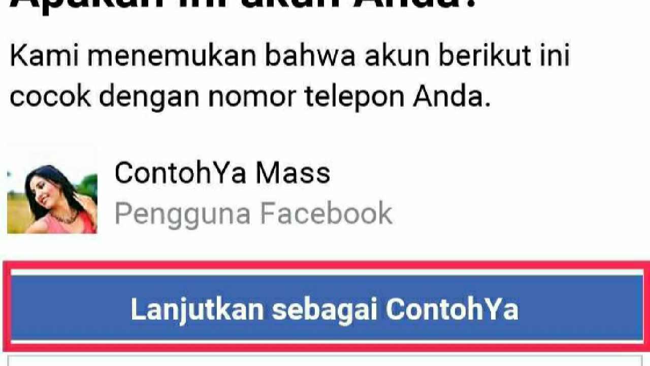 Apa kata sandi Facebook saya