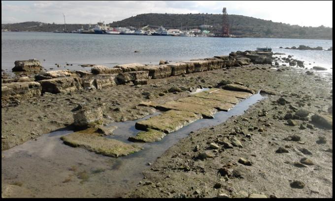ΣΑΛΑΜΙΝΑ: Περιοχή Αμπελακίου-Κυνόσουρας, το σημείο που συγκεντρώθηκε ο ελληνικός στόλος πριν από τη ναυμαχία της Σαλαμίνας.