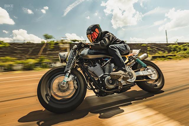 ICON 1000 - Days of Thunderdome - Homemade Sin, Custom Harley Dyna - Icon Motosports