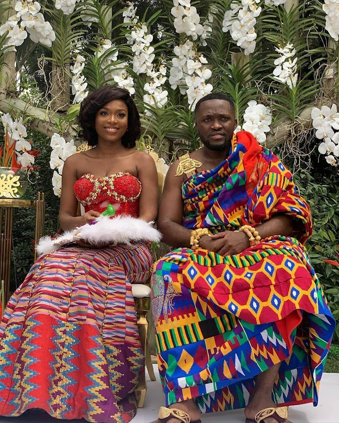Photos and Videos from Kennedy Osei and Tracy's royal wedding
