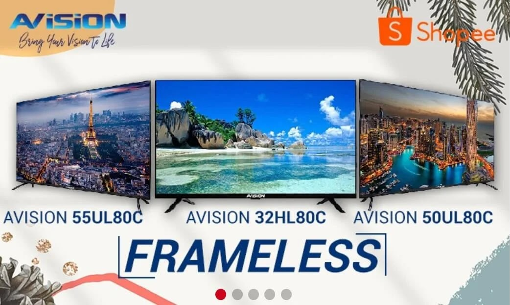 Transform Your Home Entertainment Experience with Avision TVs Available in Shopee for As Low As Php6,999